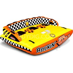 Rockin Super Mable Inflatable Triple Rider Towable
