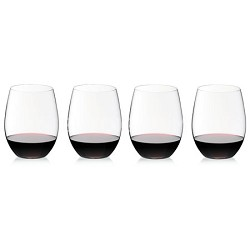 Crystal 'O' Wine Tumbler Cabernet/Merlot Glass - Set of 4