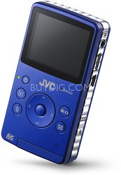 GC-FM1A Picsio Pocket Flash Memory 1080p Camcorder (Brilliant Blue) Refurbished