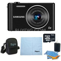 ST76 16MP 5X Optical Zoom Compact Digital Camera - Bundle Deal