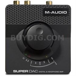 Super DAC 24 bit/192 kHz USB Audio DAC with Analog & Digital Outputs