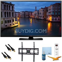 "50PB6650 - 50"" Full HD 1080p 600Hz Smart Plasma TV Plus Mount & Hook-Up Bundle"