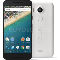 H790 Google Nexus 5X 16GB Unlocked Smartphone - Quartz White