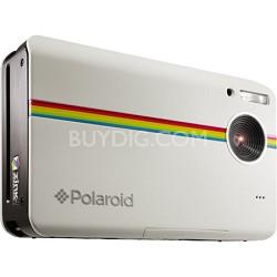 "Z2300 10MP 2x3"" Instant Digital Camera with ZINK Zero Ink (White) - OPEN BOX"