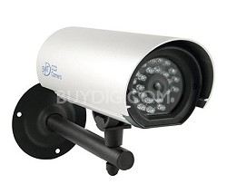 Hi-Res Outdoor CCD Security Camera With Long Range Night Vision