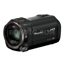 HC-V770K HD Camcorder with Wireless Smartphone Twin Video Capture - OPEN BOX