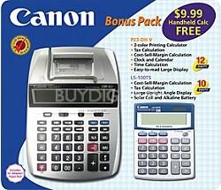 P23-DH miniDesktop Printing Calculator LS-100 Bonus Pack