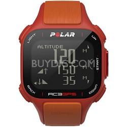 RC3 GPS Watch - Red/Orange (90047381)