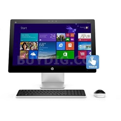 "Pavilion 23-q012 23"" AMD A8-7410  All-in-One Touchscreen Desktop - Refurbished"