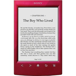 PRS-T2RC 6 inch Touchscreen WiFi eReader - Red