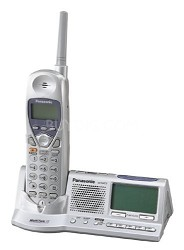 KX-TGA273S  2.4Ghz Extra Handset 1X8  with AM/FM CLOCK RADIO CHARGER