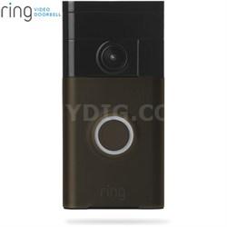 Video Doorbell Wi-Fi Enabled Smartphone Compatible (Venetian Bronze)
