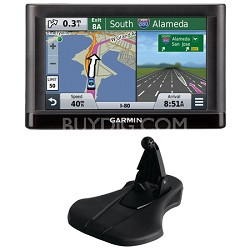nuvi 55LM Essential Series GPS System w/ Lifetime Maps and Garmin Friction Mount
