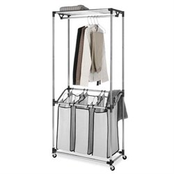 Chrome Laundry Center Mesh Bag