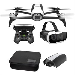 Bebop 2 with Skycontroller 2 & FPV - White w/ Battery + Hard Side Case