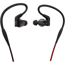 Hybrid, 3-way, In-Ear Headphones (Black) - XBA-H3 - OPEN BOX