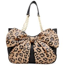 Bow Tails Satchel - Leopard