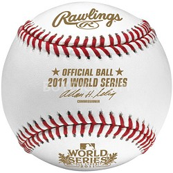 WSBB11-R - 2011 Official World Series Baseball in Cube
