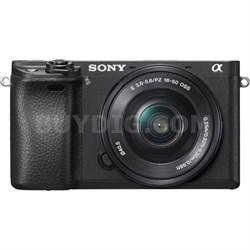 ILCE-6300 a6300 4K Mirrorless Camera w/ 16-50mm Power Zoom - OPEN BOX