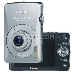 Powershot SD750 Digital ELPH Camera Silver (refurbished)
