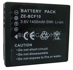 DONT SELL - NOT COMP W/ 2010 -  BCF10 1400 mAh Battery for Lumix Digital Cameras