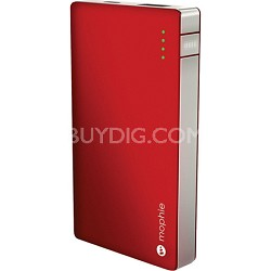 Juice Pack Powerstation For iPhone, iPod, iPad - Red and Silver