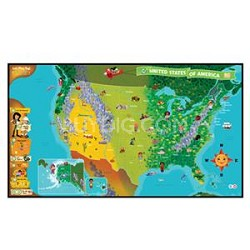 Tag 24025 United States of America Map Story Book