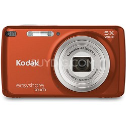 "EasyShare M577 Touch 14MP 3.0"" Touch Screen Red-Orange Digital Camera"