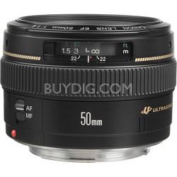 EF 50mm f/1.4 USM Standard + Medium Telephoto Lens for Canon SLR Cameras