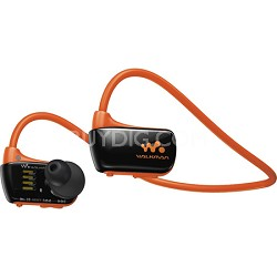 NWZW273S 4 GB Wearable Sports MP3 Player - Orange