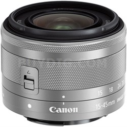 EF-M 15-45mm f/3.5-6.3 IS STM Lens for EOS M Mirrorless Digital Cameras (Silver)
