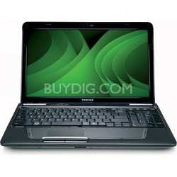 "Satellite 15.6"" L655-S5156 Notebook PC - Gray Intel Pentium P6200 Processor"