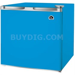 1.7 Cubic Foot Compact Mini Bar Office Dorm Refrigerator Freezer, Blue - FR115I