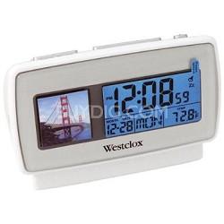 """Alarm Clock with Digital 1.5"""" Digital Photo Album"""