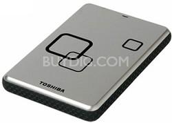 DS TS 500GB Canvio USB HD Portable External Hard Drive (Satin Silver)