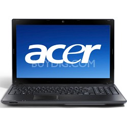 "Aspire 15.6"" Notebook Computer - Mesh Black (AS5336-2283) Intel Celeron 900"