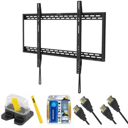 "Fixed TV Mount & Set Up Kit for 60""-100"" TVs up to 220LB - THR-205S"