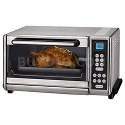 Toaster Oven Broiler Brushed Stainless - Factory Refurbished