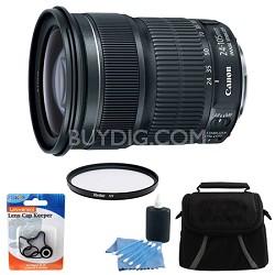 EF 24-105mm f/3.5-5.6 IS STM Camera Lens Bundle