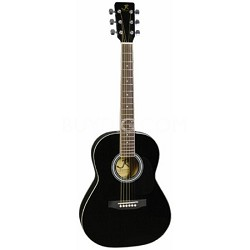 JR14BK 36-Inch Acoustic Guitar - Black