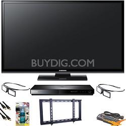 PN51E490 51 inch 3D 720p Plasma HDTV Blu Ray Bundle