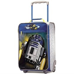 """18"""" Upright Softside Suitcase (Star Wars R2D2)"""