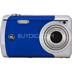 Create by Jason Wu 12MP Blue Digital Camera with 3x Optical Zoom