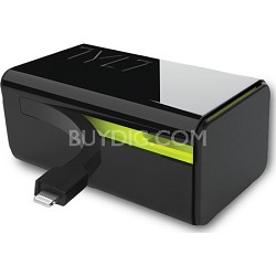 POWERPLANT Portable Power Pack for iPod/iPhone Lightning Cable - Black/Green