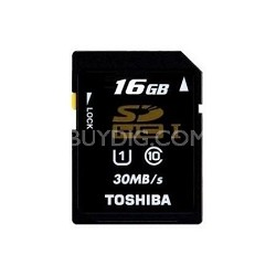 Secure Digital 16GB Class 10 UHS-I High Capacity SDHC Memory Card (PFS016U-1DCK)