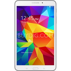 "Galaxy Tab 4 White 16GB 8"" Tablet - 1.2 GHz Quad Core Proc, Android 4.4, Kit Kat"