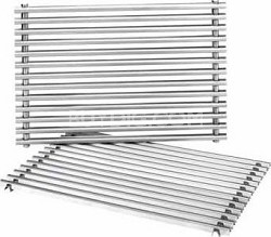 Stainless Steel Replacement Cooking Grates - OPEN BOX