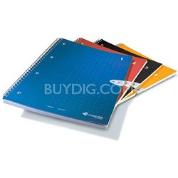 Single Subject Notebook, 4-Pack, Numbers 1 through 4