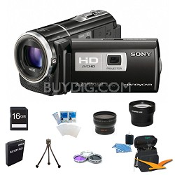 HDR-PJ10 Handycam 16GB Full HD Camcorder Ultimate Bundle