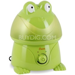 Adorable Ultrasonic 1 Gallon Cool Mist Humidifiers 32 Watts - Frog